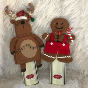 St Nicholas square Holiday Wine Bottle Cover NWT